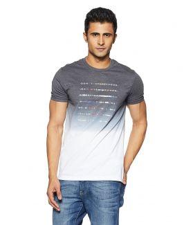 Men's Printed Regular Fit T-Shirt