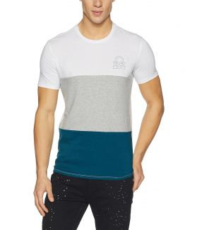 Men's Solid Regular Fit T-Shirt