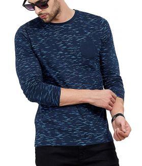 Fullsleeve Round Neck Printed Tshirt