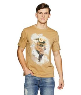 Cherokee Men's Printed Regular Fit T-Shirt