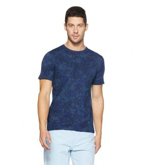 UCB Men's Printed Slim Fit T-Shirt