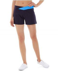 Bess Yoga Short-32-Blue